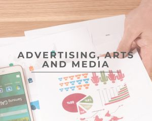 Advertising, Arts and Media