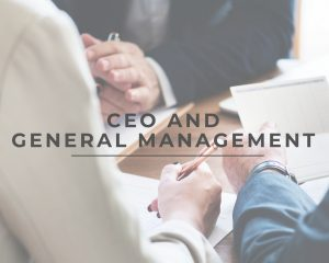 CEO and General Management
