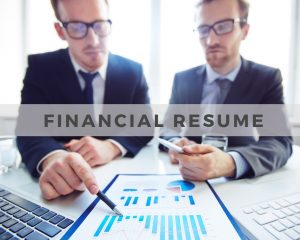 Financial Resume
