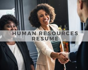 Human Resources Resume